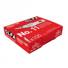 Olfa KB4-S/100 Precision Blades - Bulk 100/pk