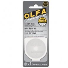 Olfa RB45H-1 Endurance Rotary Blade 45mm, Pack of 1