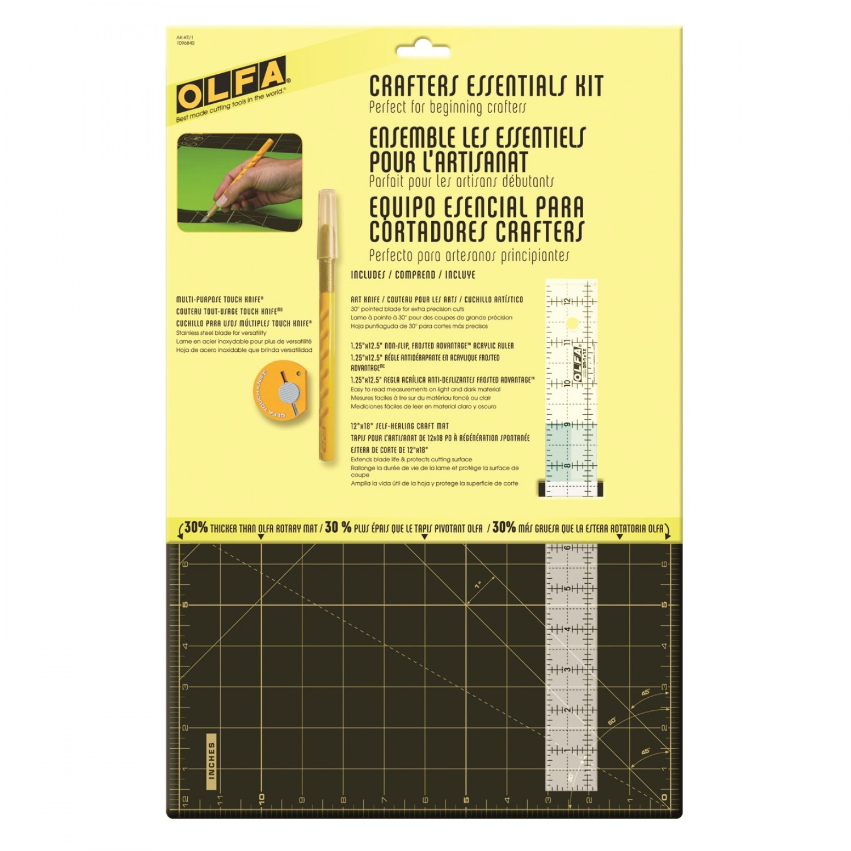 Olfa AK-KT1 Crafter's Essentials Kit