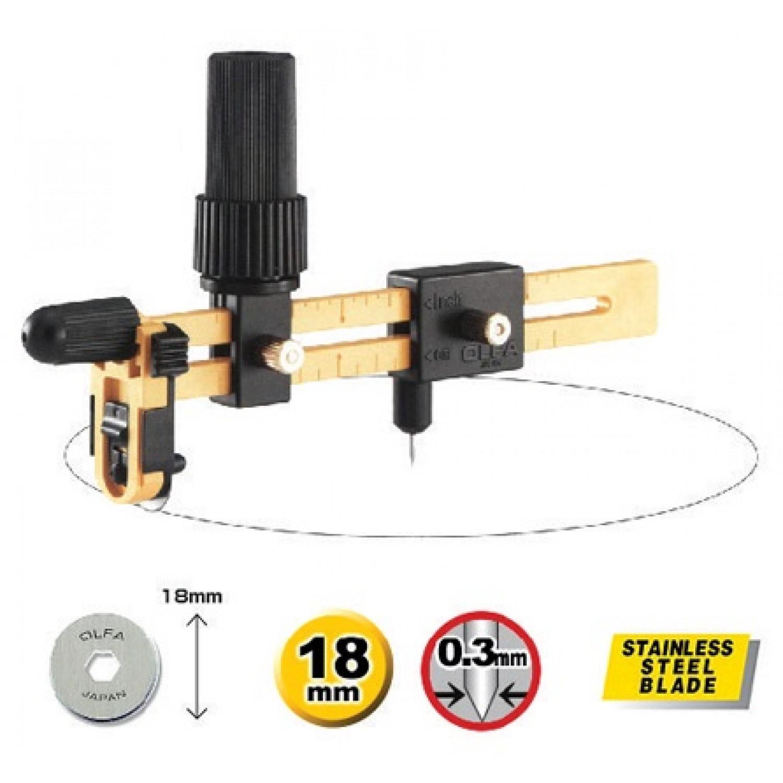 Olfa CMP-3 Circle Cutter Alt 2