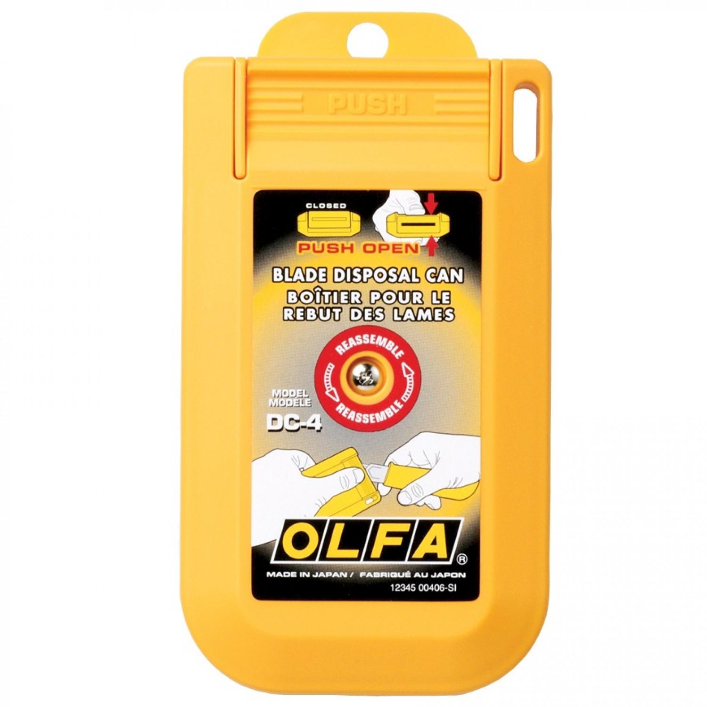 Olfa DC-4 Blade Disposal Case