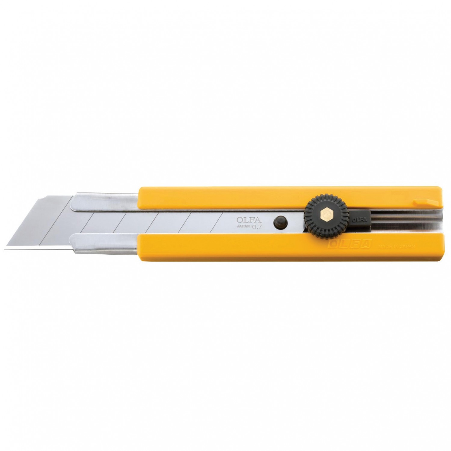 Olfa H-1 Extra Heavy Duty Cutter Front