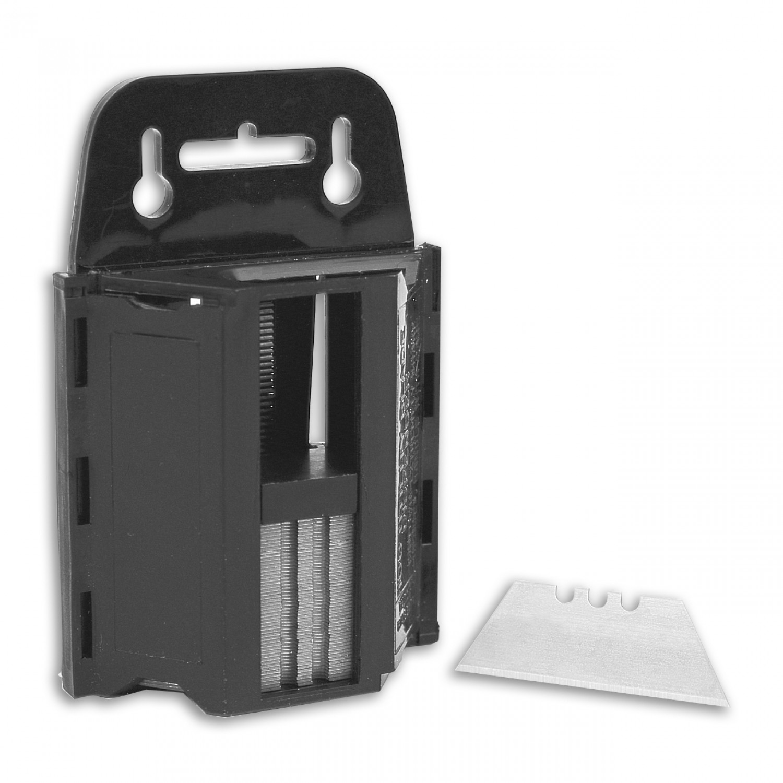 OLO-100-B Heavy Duty Utility Blade and Dispenser 100pk Alt