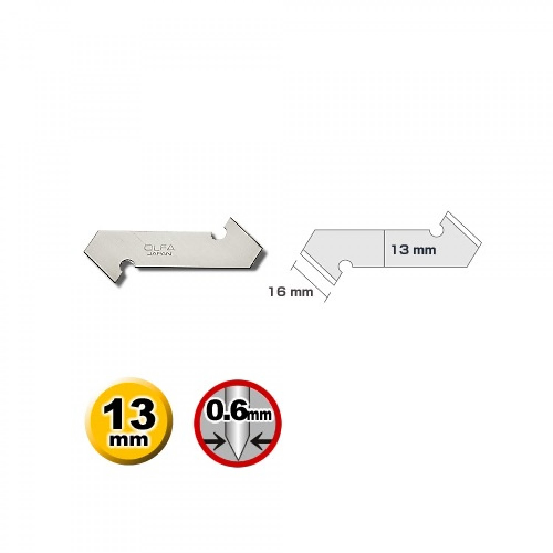 Olfa PB-800 Blade Dimensions