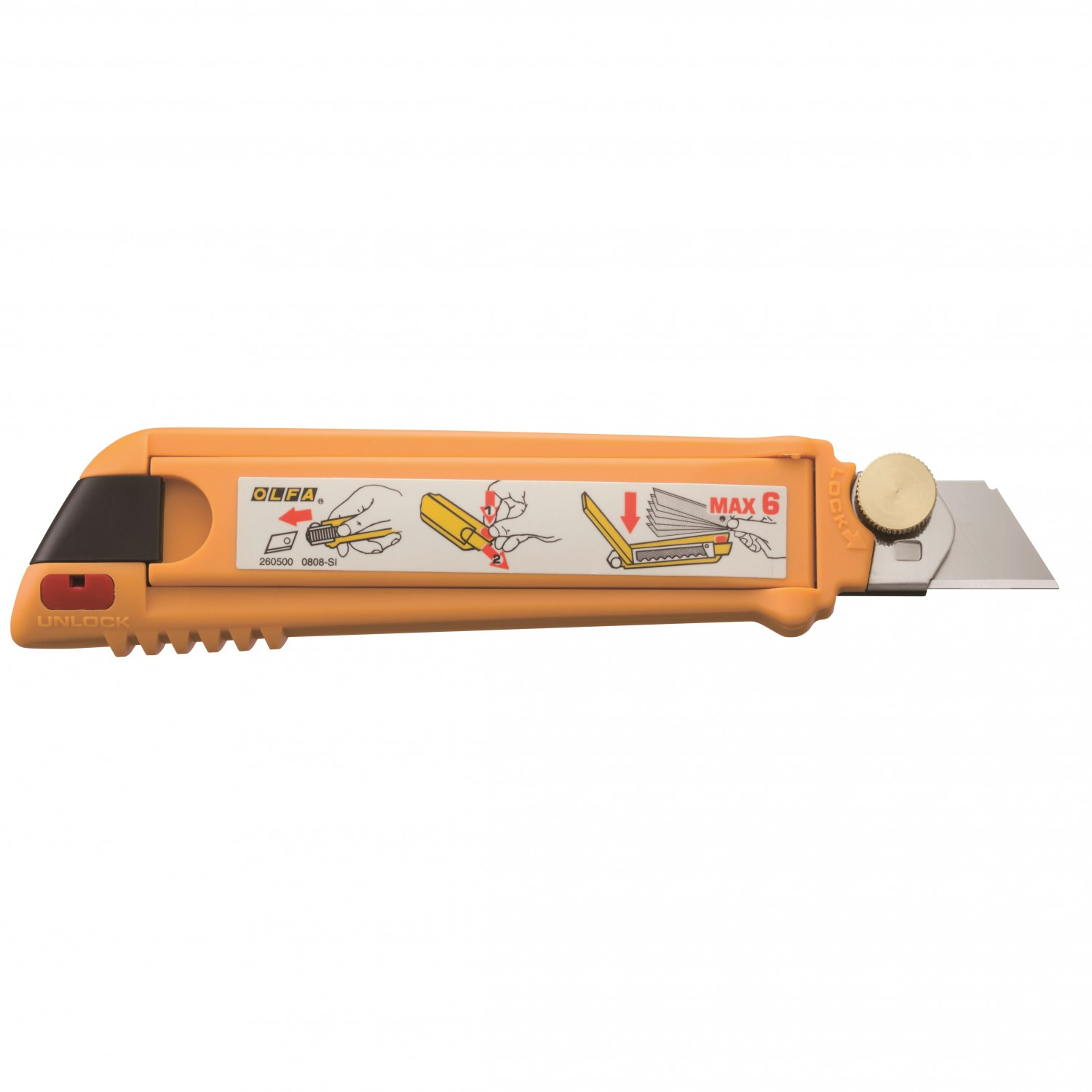 Olfa PL-1 Pro-Load' Multi Blade Cutter Back