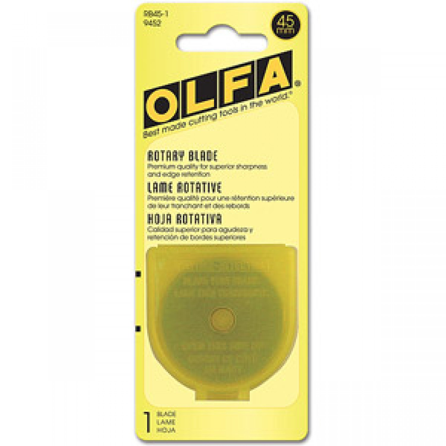 Olfa RB45-1 Rotary Blade 45mm, 1 Pack