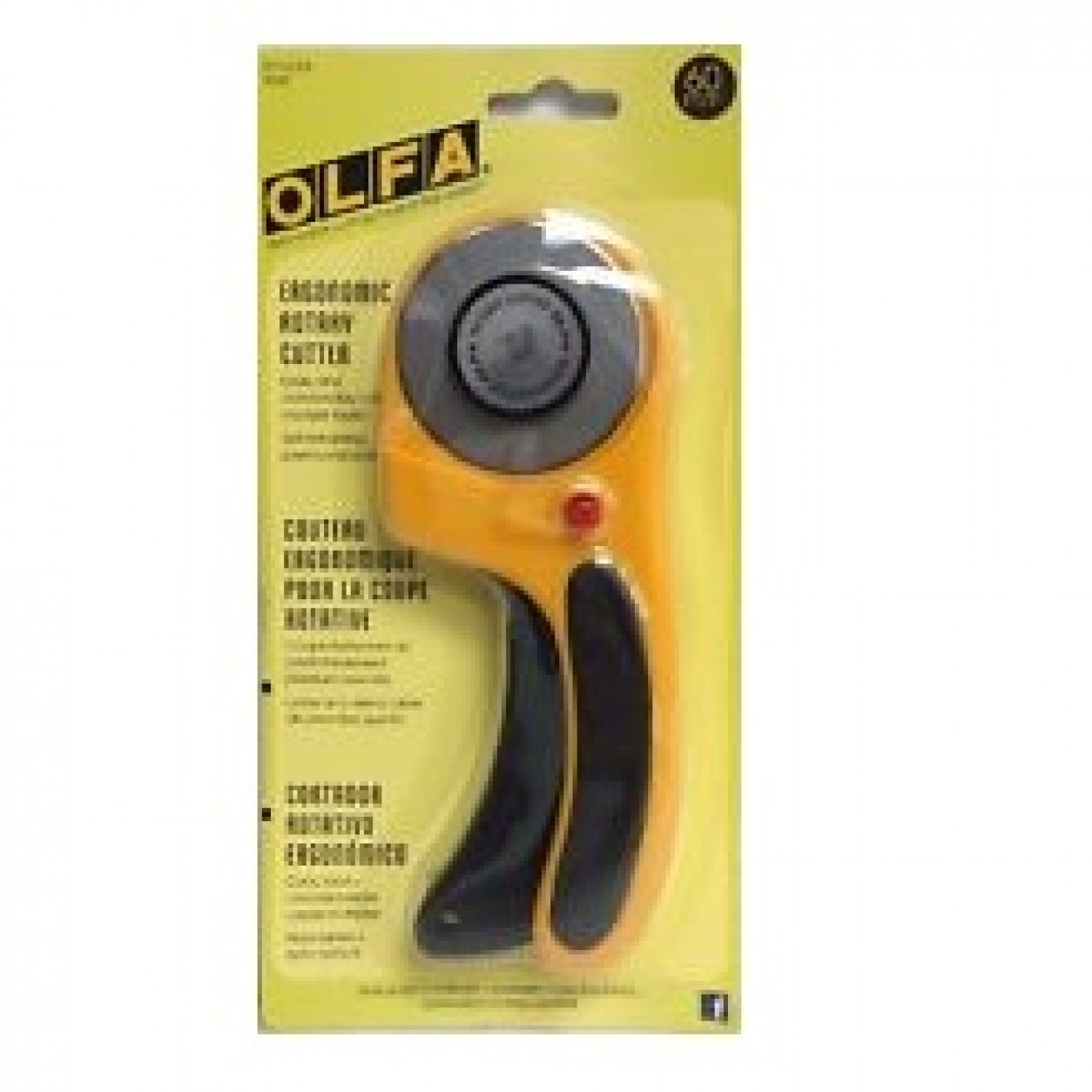 Olfa RTY-3/DX Rotary Cutter Deluxe 60mm